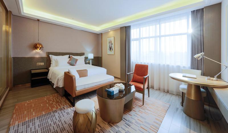 普宁港丽酒店客房设计实景图